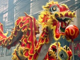 Chinese New Year Canada dragon
