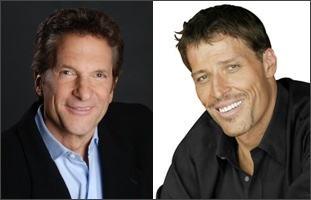Tony Robbins and Peter Guber