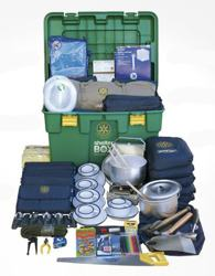 ShelterBox - the contents of a ShelterBox