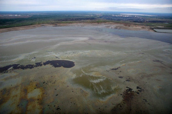 Canada's tailings ponds