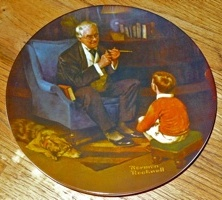 Knowles' plate of Rockwell's Tycoon