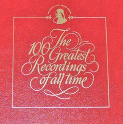 The 100 Greatest Recordings of all time - cover 1