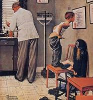 Doctor's Office by Norman Rockwell