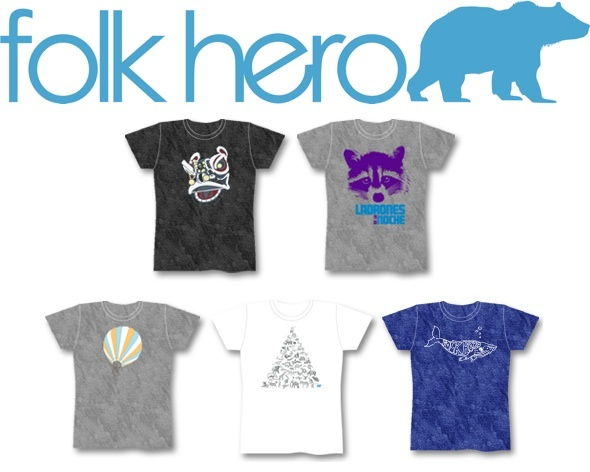 Folk Hero T-Shirts