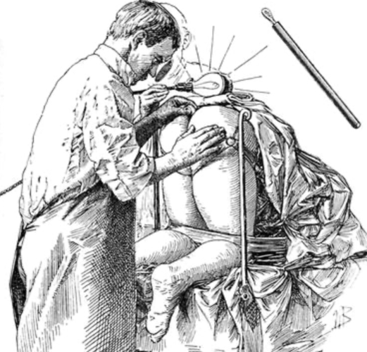 Sigmoidoscopy in the old days