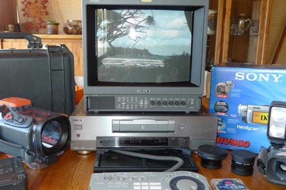 SONY DHR-1000 video studio